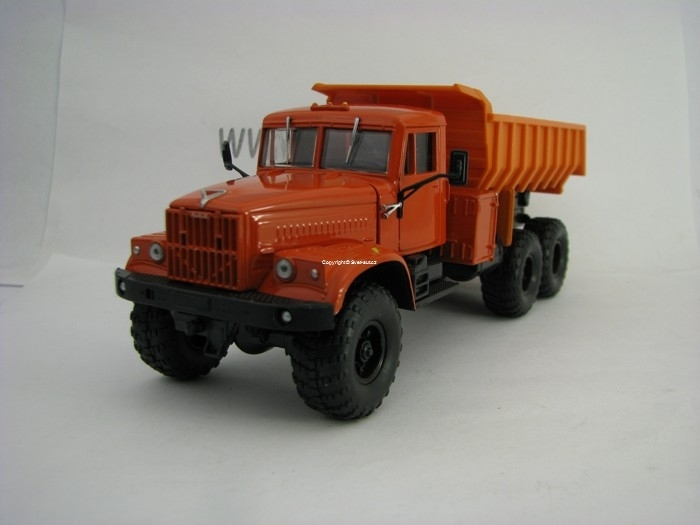 KrAZ-255 Dump Truck Orange 1:43 SpecialC